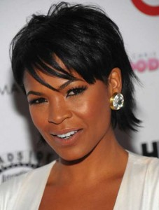 African American Short Hairstyles For Round Faces