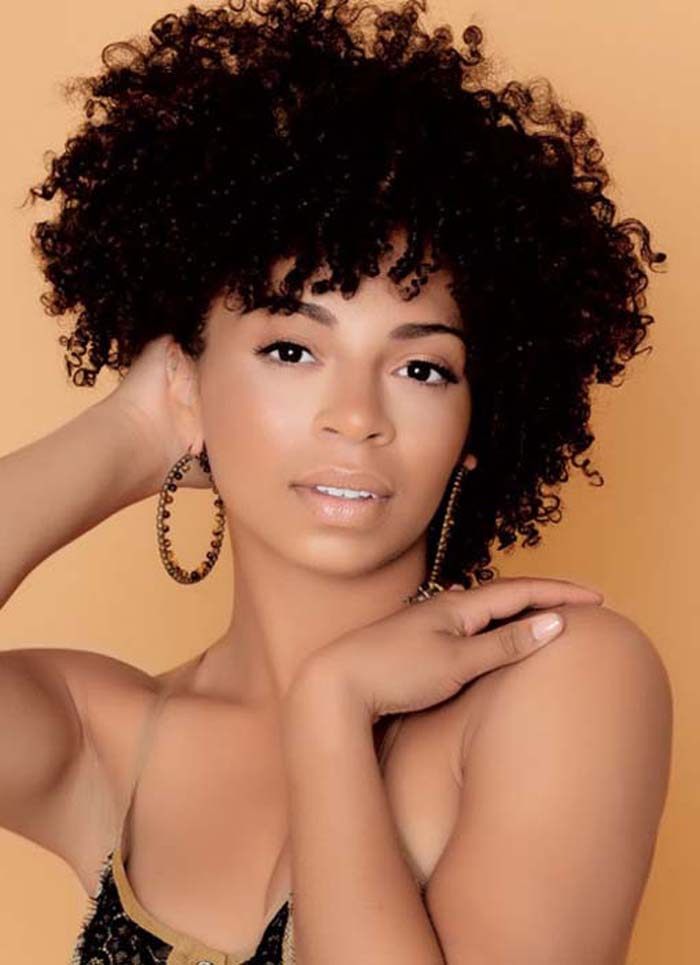 Short natural hairstyles beautiful hairstyles for Wonderful black