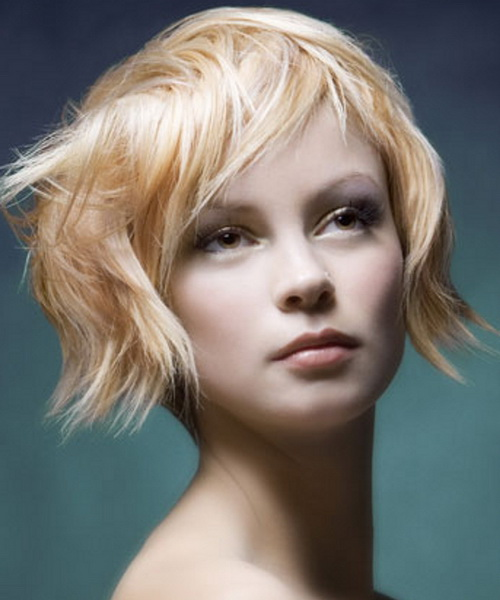 Short Blonde Hairstyles Beautiful