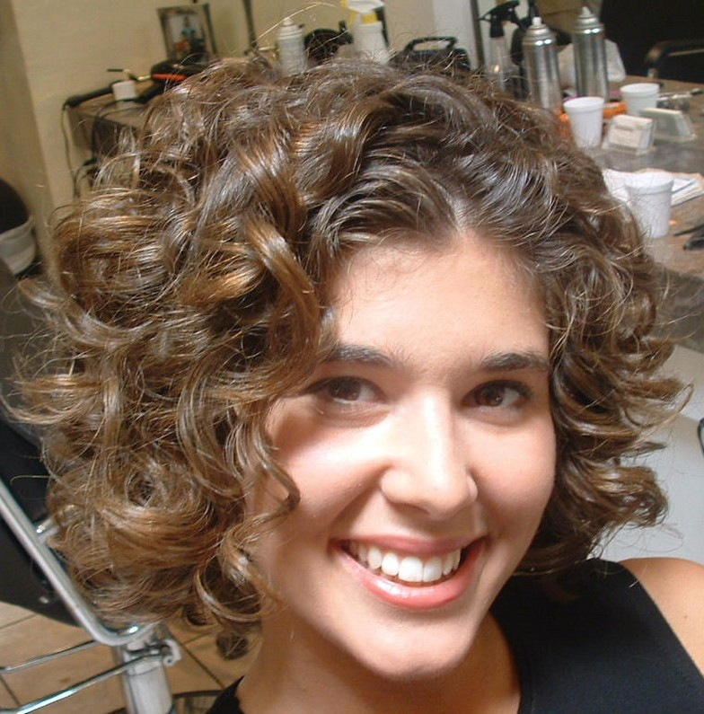 Short Curly Hairstyles Beautiful