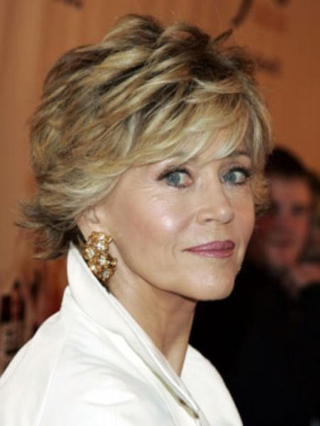 Hairstyles For Older Women With Short Hair