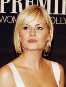 Hairstyles With Short Bangs