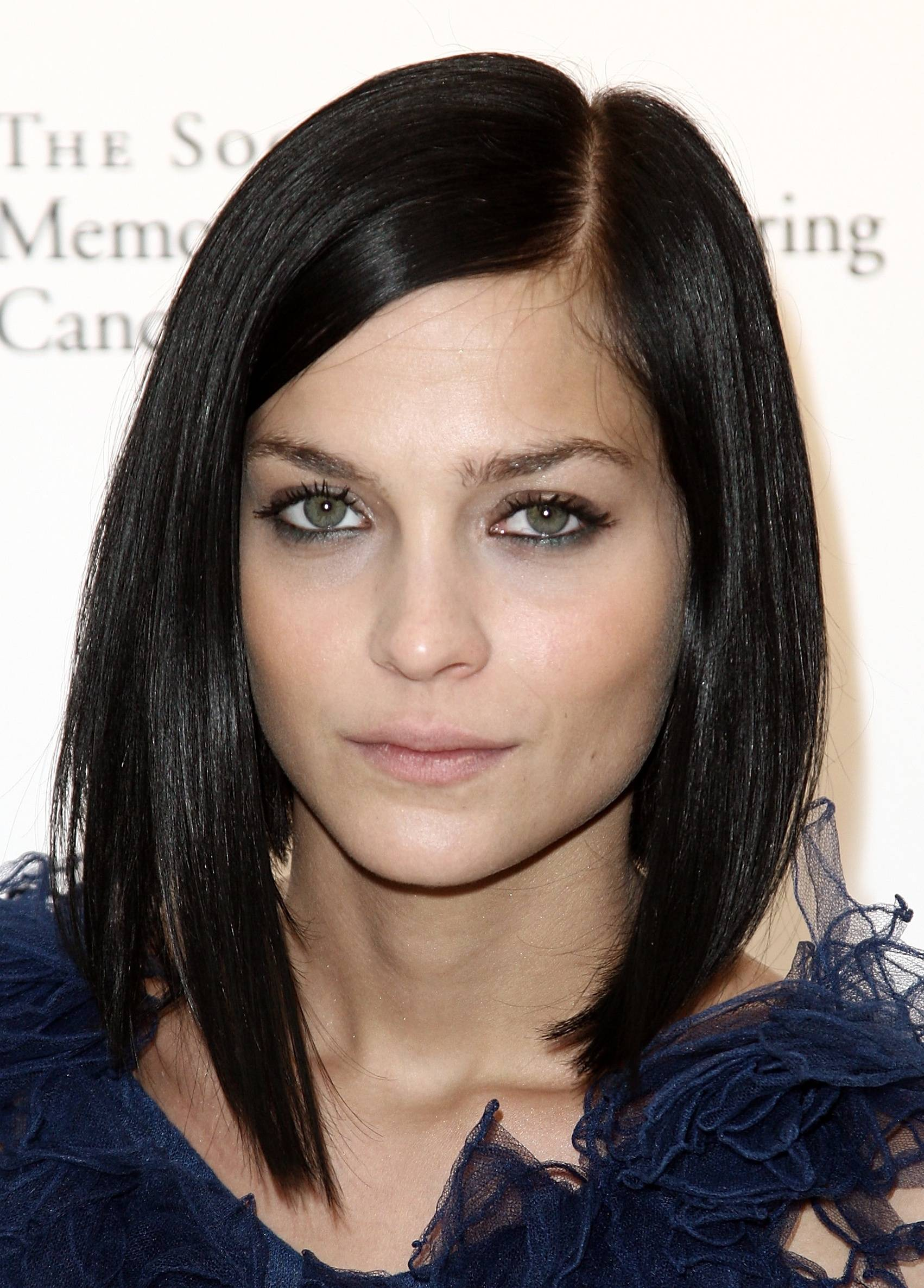 Dark Brown Medium Length Hairstyles