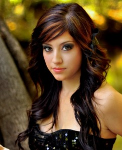 Long Curly Layered Hairstyles