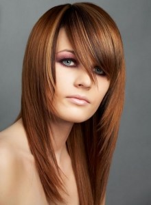 Long Hairstyles With Long Bangs