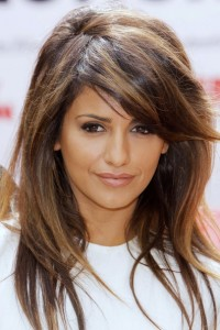 Long Hairstyles With Side Swept Bangs