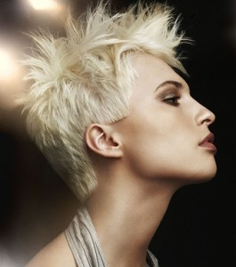 Pictures of Short Spikey Hairstyles For Women