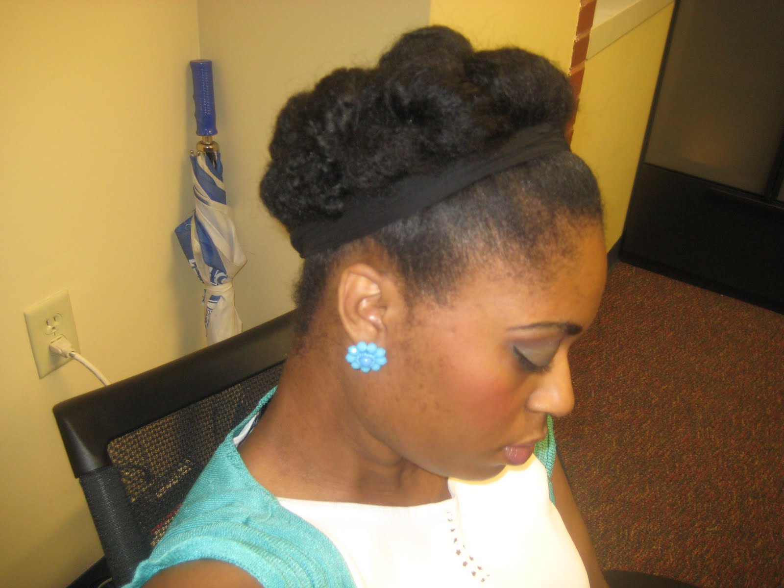 Hairstyles For Short Hair Quick: Short Natural Hairstyles