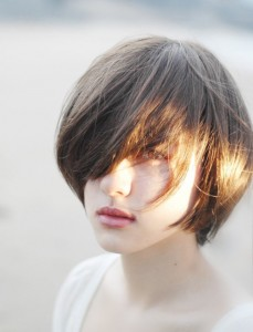 Short Asian Hairstyles Women