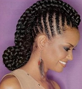Short Braided Hairstyles For Black Women