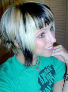 Short Emo Hairstyles Girls