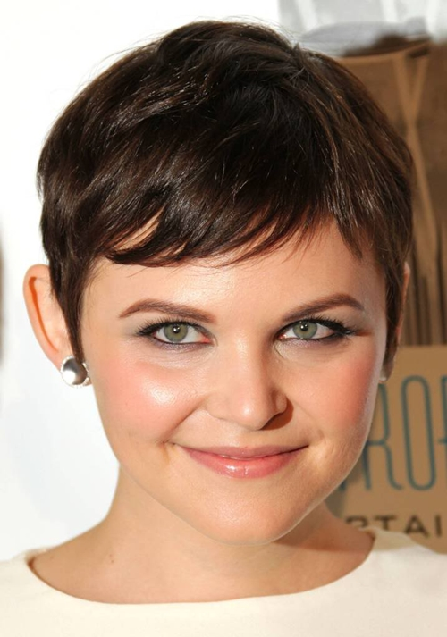 Short Hairstyle For Fat Faced Women