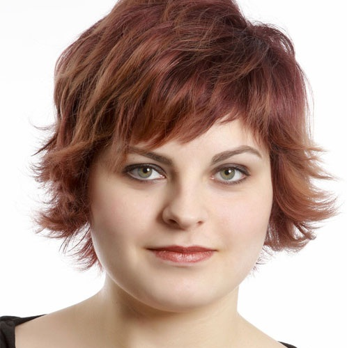 populer short hairstyles for fat women