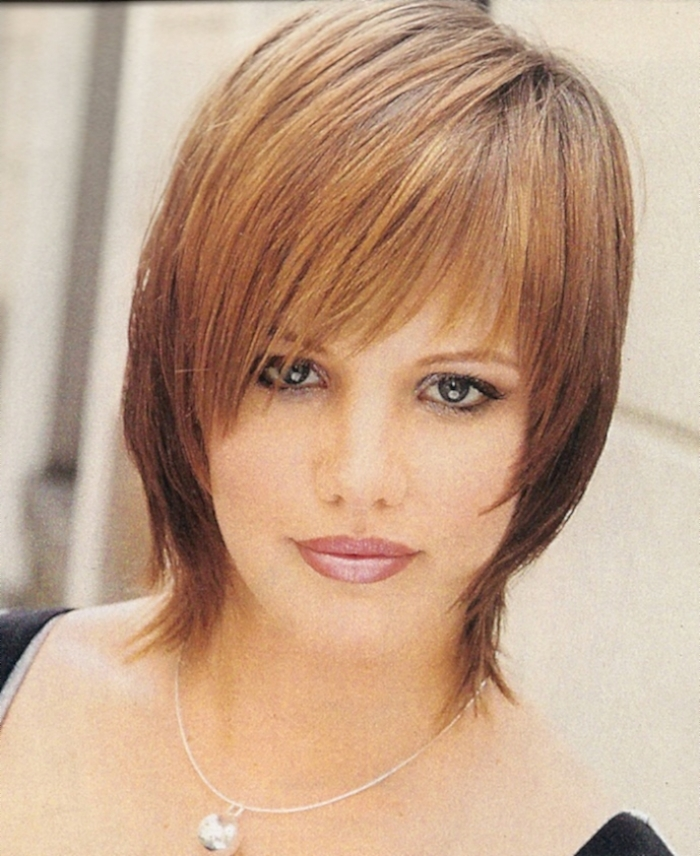 Awe Inspiring Short Hairstyles For Fine Hair Round Face Carolin Style Hairstyles For Women Draintrainus
