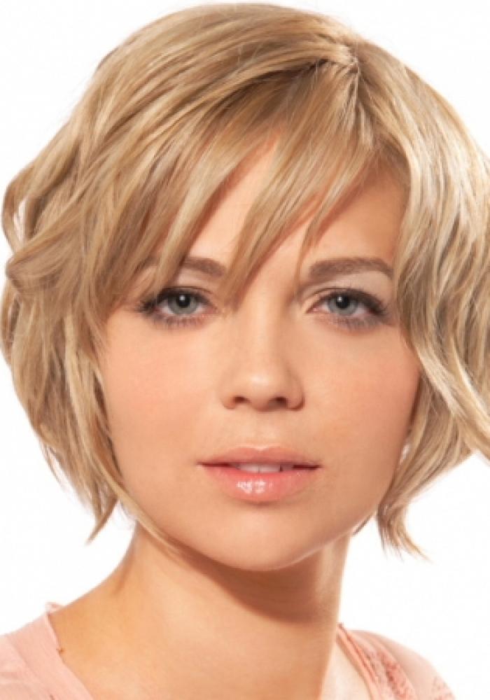 Pics Photos - Short Hairstyles Round Face Thin Hair