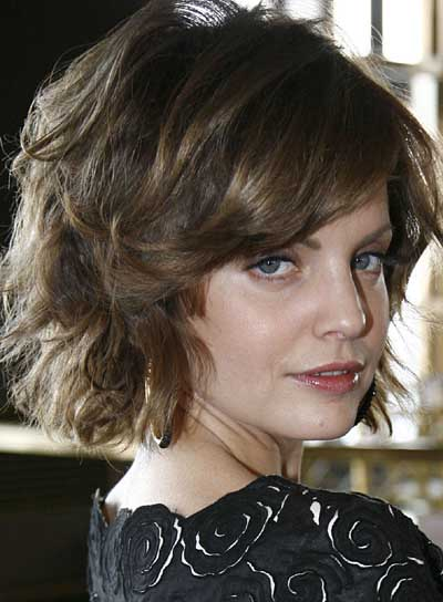 Creative For More Wow Effect, Some Highlight Can Be Added Short Wavy Hairstyles For Thick Hair Via Short Wavy Hairstyles For Thick Hair The Charming Wavy Pixie Is Full Of Trendy And Luscious Factors The Soft And Bouncy Waves Create Much