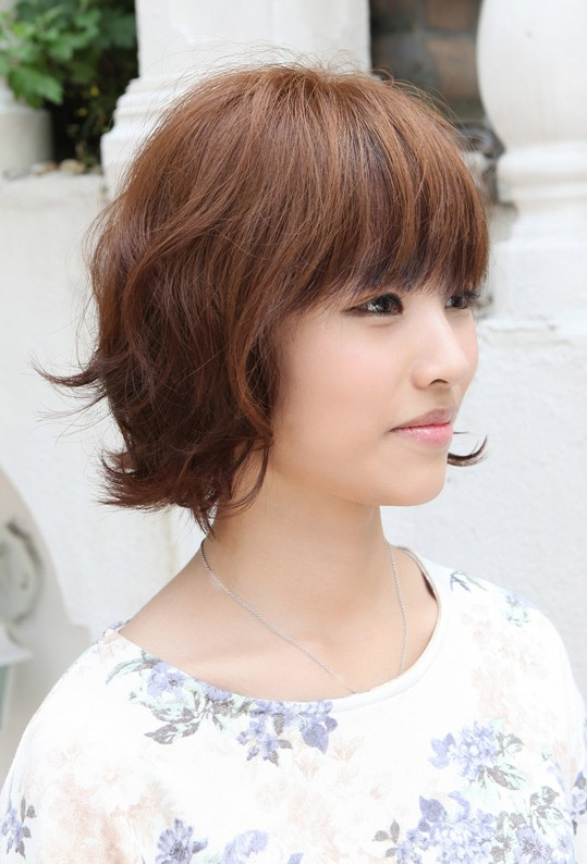 Short Hairstyles With Bangs Beautiful Hairstyles