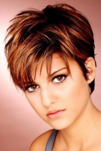 Short Layered Hairstyles For Thick Hair