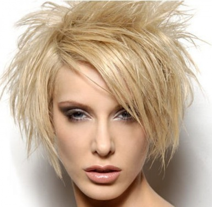 Beautiful Messy Hairstyle : Short messy hairstyles beautiful