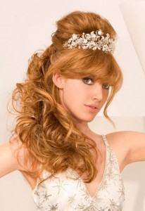 Wedding Hairstyles For Long Curly Hair