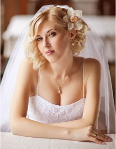 Wedding Updo Hairstyles For Short Hair
