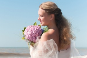 Beach Wedding Hairstyle