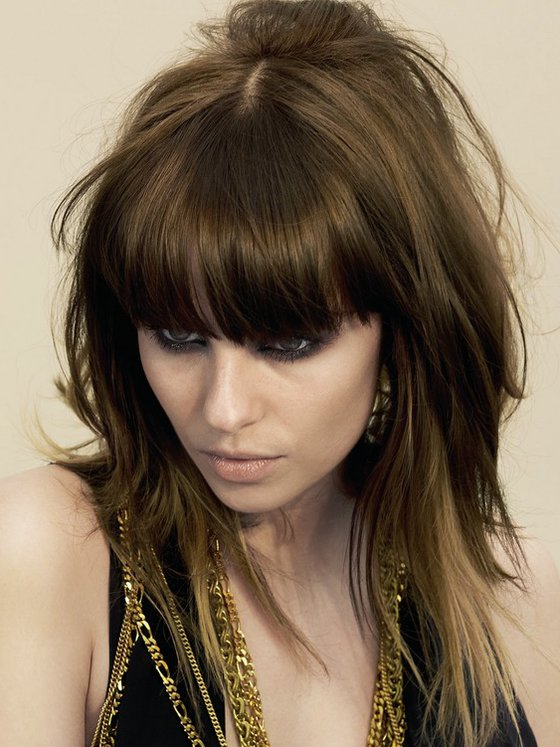 Hairstyle For Thin Hair : Pics Photos - Fine Layered Hairstyles For Thin Fine Hair