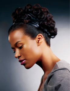 Black Hair Updo Hairstyles