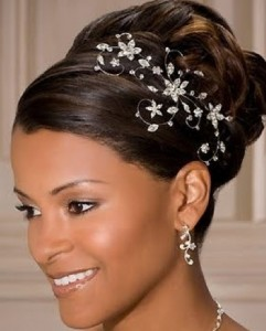 Black Hairstyles For Weddings