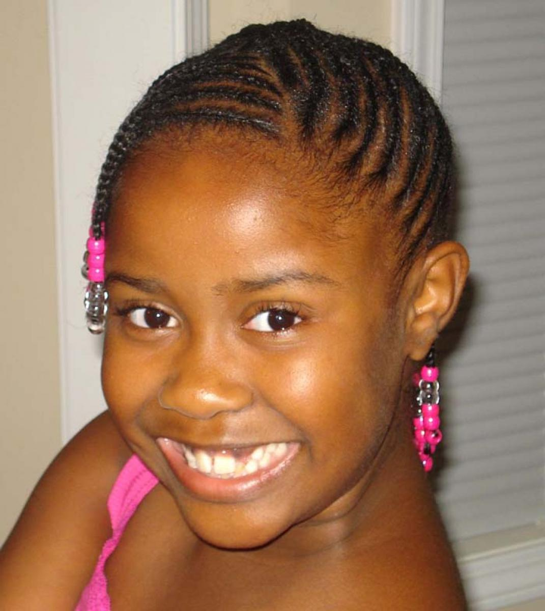 Black Kids Hairstyles with Short Hair