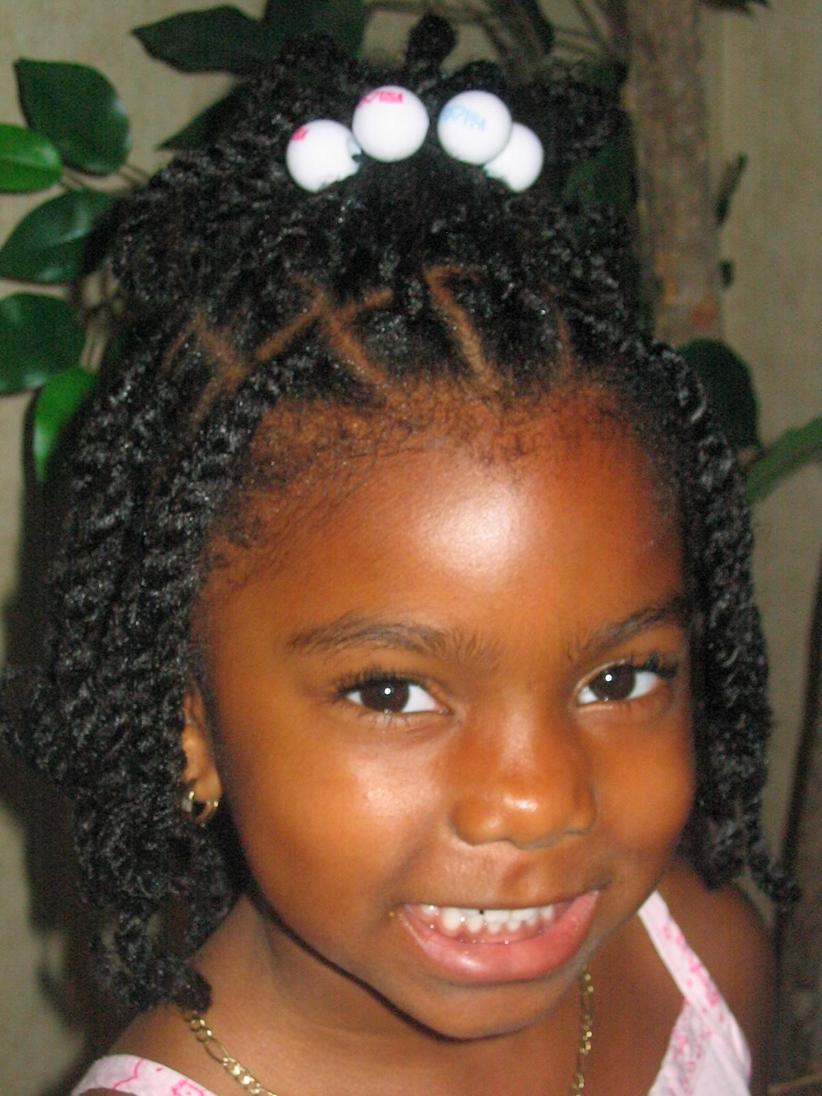 Awe Inspiring Kids Hairstyles For Girls Boys For Weddings Braids African Hairstyles For Women Draintrainus