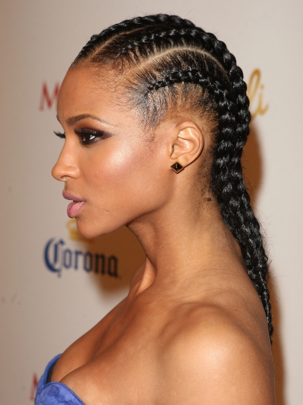 Black Hair Braid Hairstyles for Girls