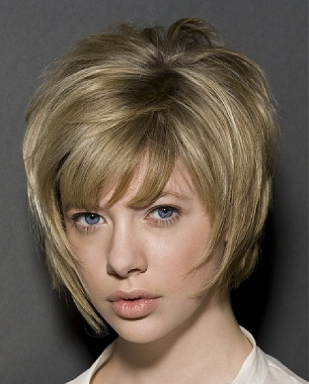 bob haircut with bangs and layers layered bob hairstyles beautiful hairstyles 5640