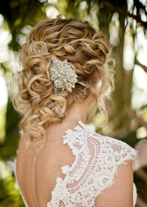 Innovative 18 Hairstyles For Brides