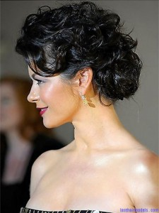 Curly Half Updo Hairstyles