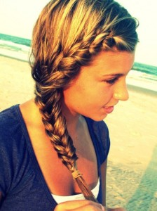 Fishtail French Braid Hairstyles