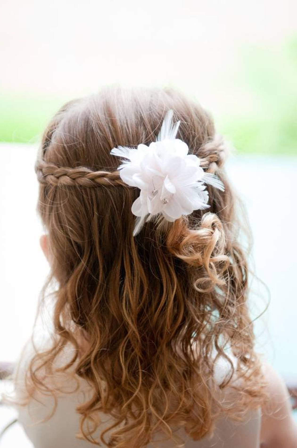 Flower Girl Hairstyles Beautiful Hairstyles - Beautiful Wedding Hairstyles