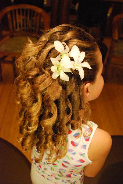 black girl long hairstyles : Flower Girl Hairstyles Beautiful Hairstyles