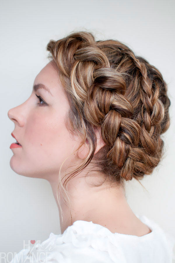 Beautiful French Braid Wedding Hairstyles Pictures Styles Ideas