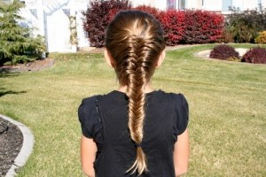 French Braided Fishtail Hairstyles