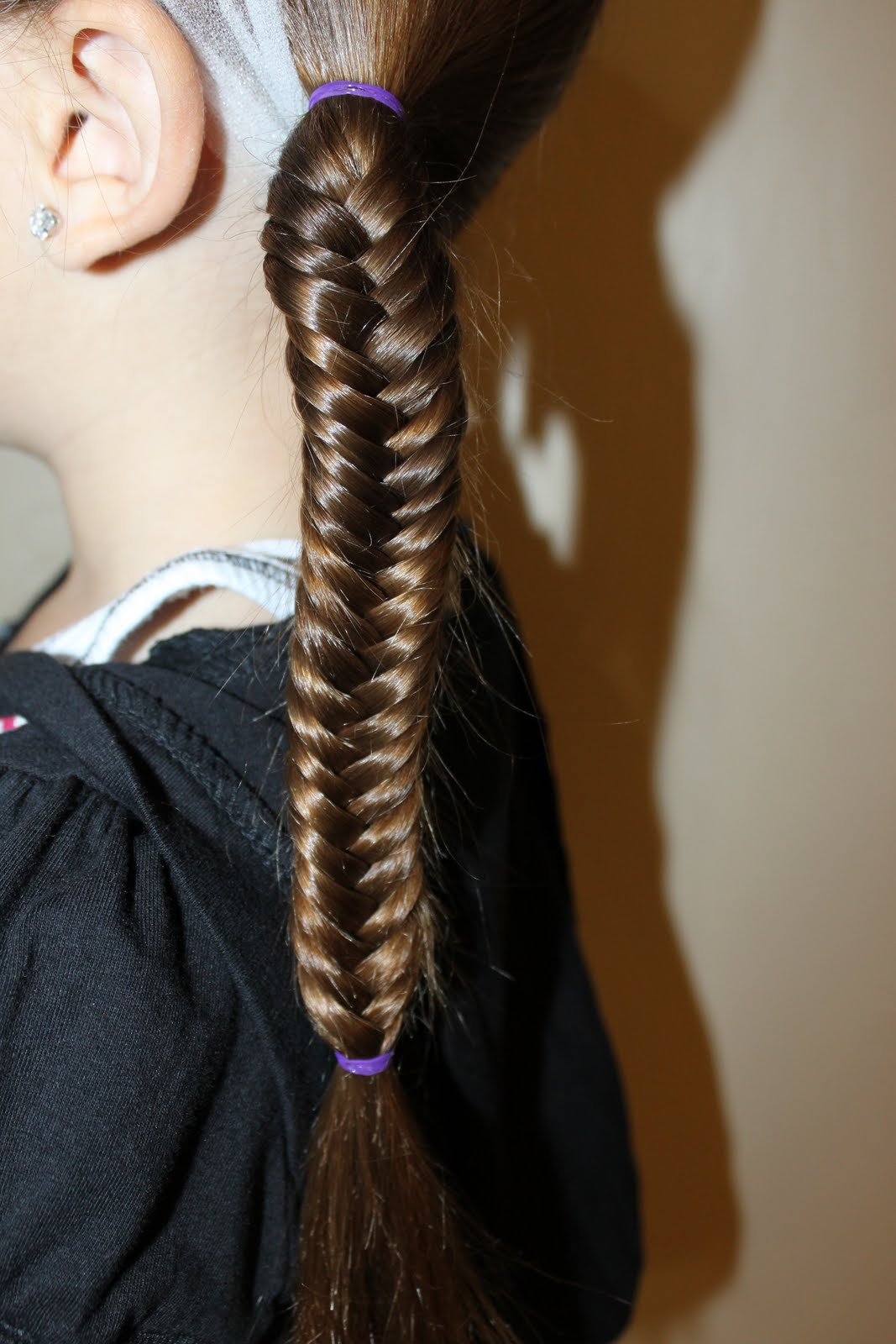 Fishtail braid hairstyles beautiful hairstyles for Fish tail hair