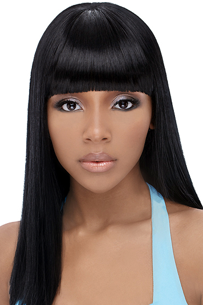 Black Hairstyles With Bangs | Beautiful Hairstyles