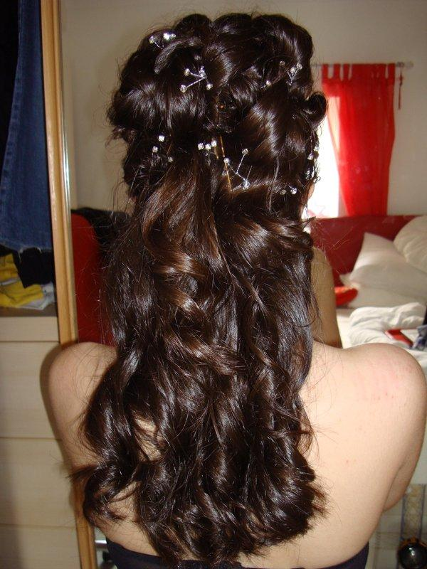 Half Up Hairstyles For Short Hair For Prom 37