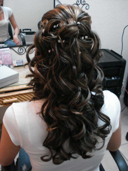 Wedding Hairstyles For Long Hair Half Up Half Down - HVGJ Wallpaper