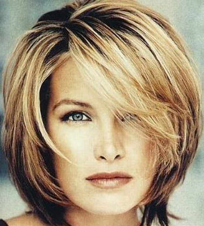hairstyles layered bob - photo #12