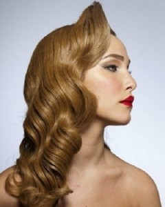 Long Hair Vintage Hairstyles For Women