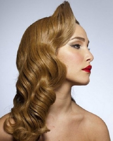 Beautiful Haircuts : Vintage Hairstyles For Long Hair Beautiful Hairstyles