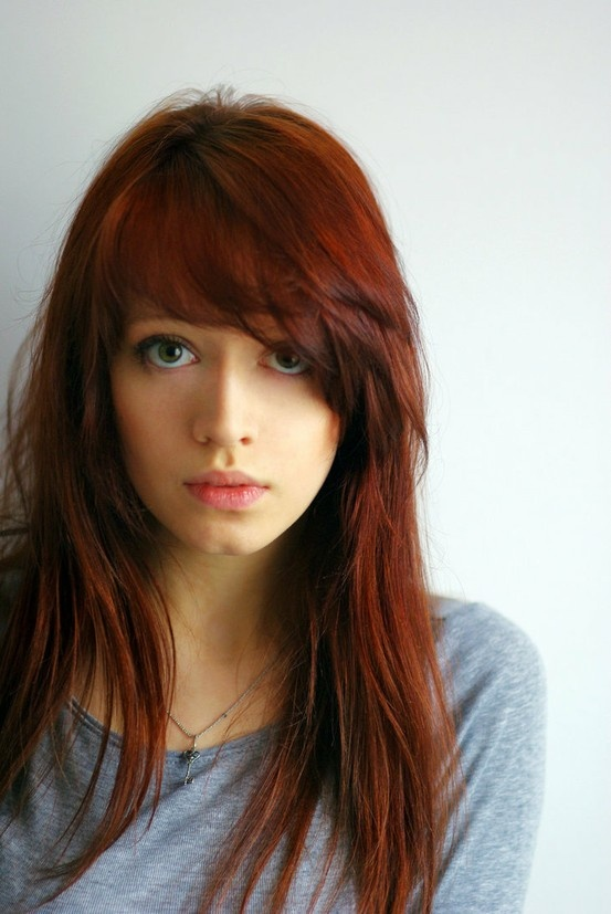 Hairstyles With Side Bangs | Beautiful Hairstyles