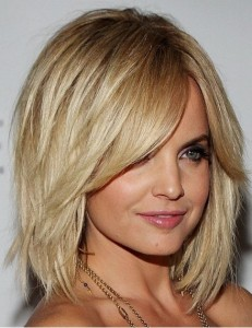 Medium Bob Layered Hairstyles