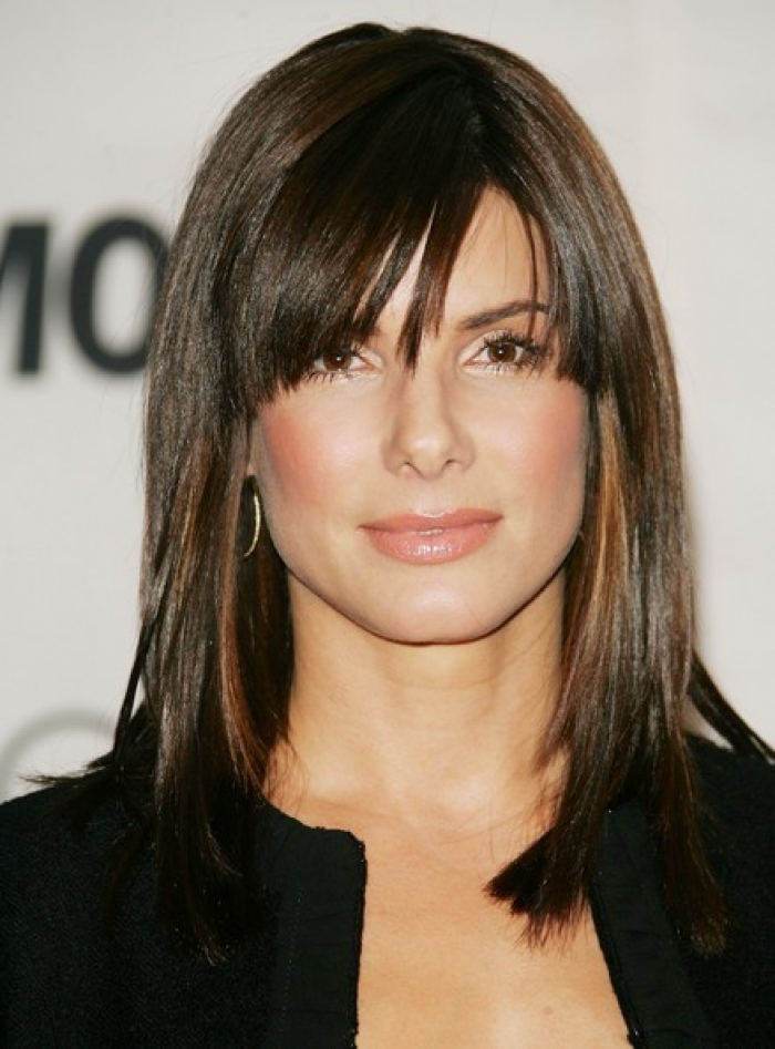 Medium Length Brown Hairstyles 2014